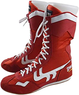 High Top Boxing Shoes Boxer Boots for Men Women Kids