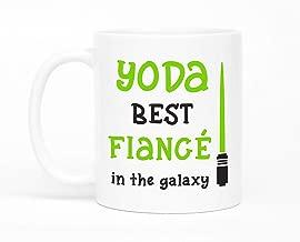 Yoda Best Fiance Mug,Valentines Day Gift,Fiance Gift,Fiance Gift Idea,Star Wars Mug,Gift For Fiance,Boyfriend Gift,Boyfriend To Fiance Mug
