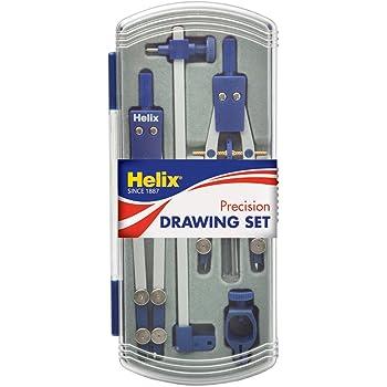 Helix precision drawing set A44002