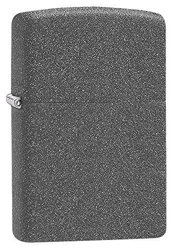 Hierro Piedra Classic hierro piedra Mechero con Zippo interior y exter