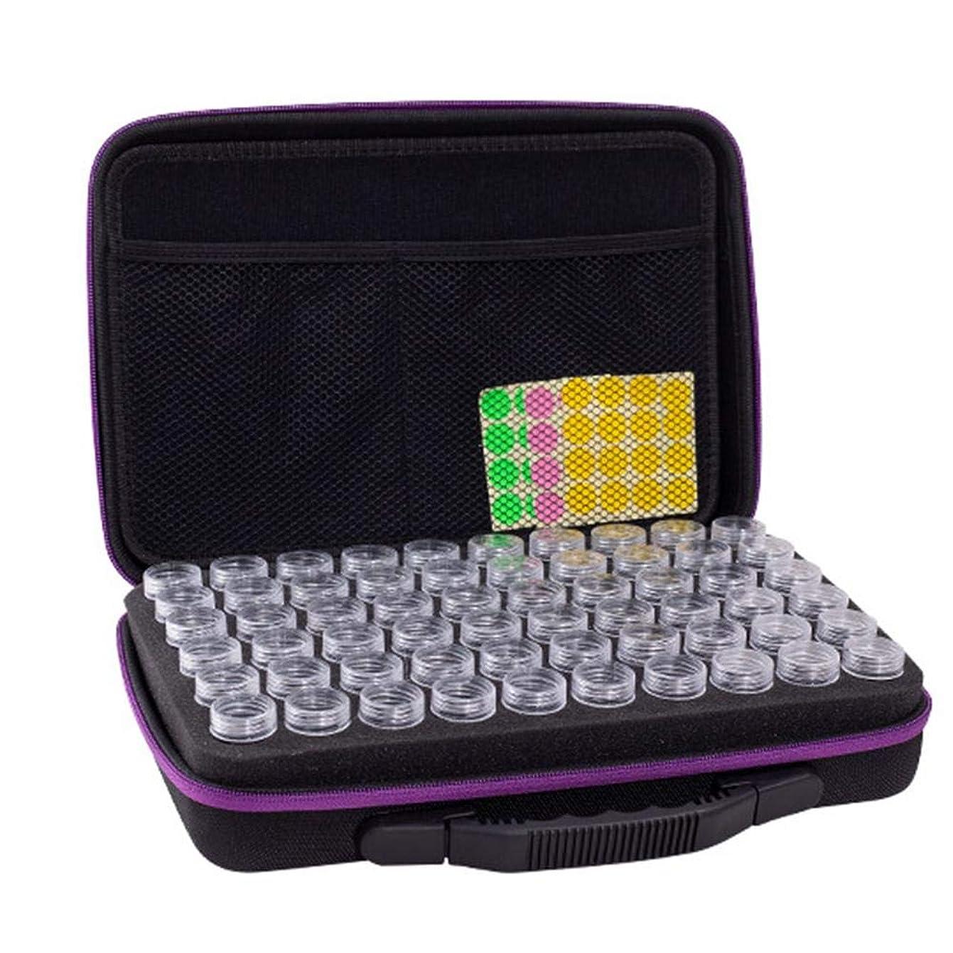 ギャングスターインフラブラインドアロマポーチ エッセンシャルオイル ケース 携帯用 アロマケース メイクポーチ 精油ケース 大容量 アロマセラピストポーチ 120本用 サイズ:32 22.5 8.5 CM