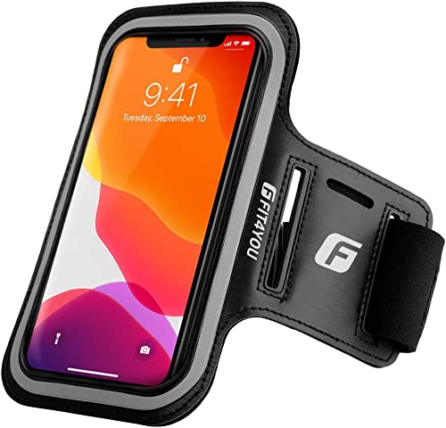 Running Cell Phone Holder for iPhone 12, 12 Pro, 11, X, Xs, 8, 7, 6, 6S, Samsung Galaxy S20, S10, S9, S8, S7, S6, Edg...