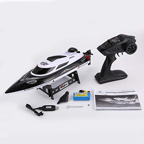 leoboone HONGXUNJIE HJ806 47cm 2.4G RC 30km h High Speed Racing Boat Water Cooling System Flipped Omni-Directional Voltage Prompt
