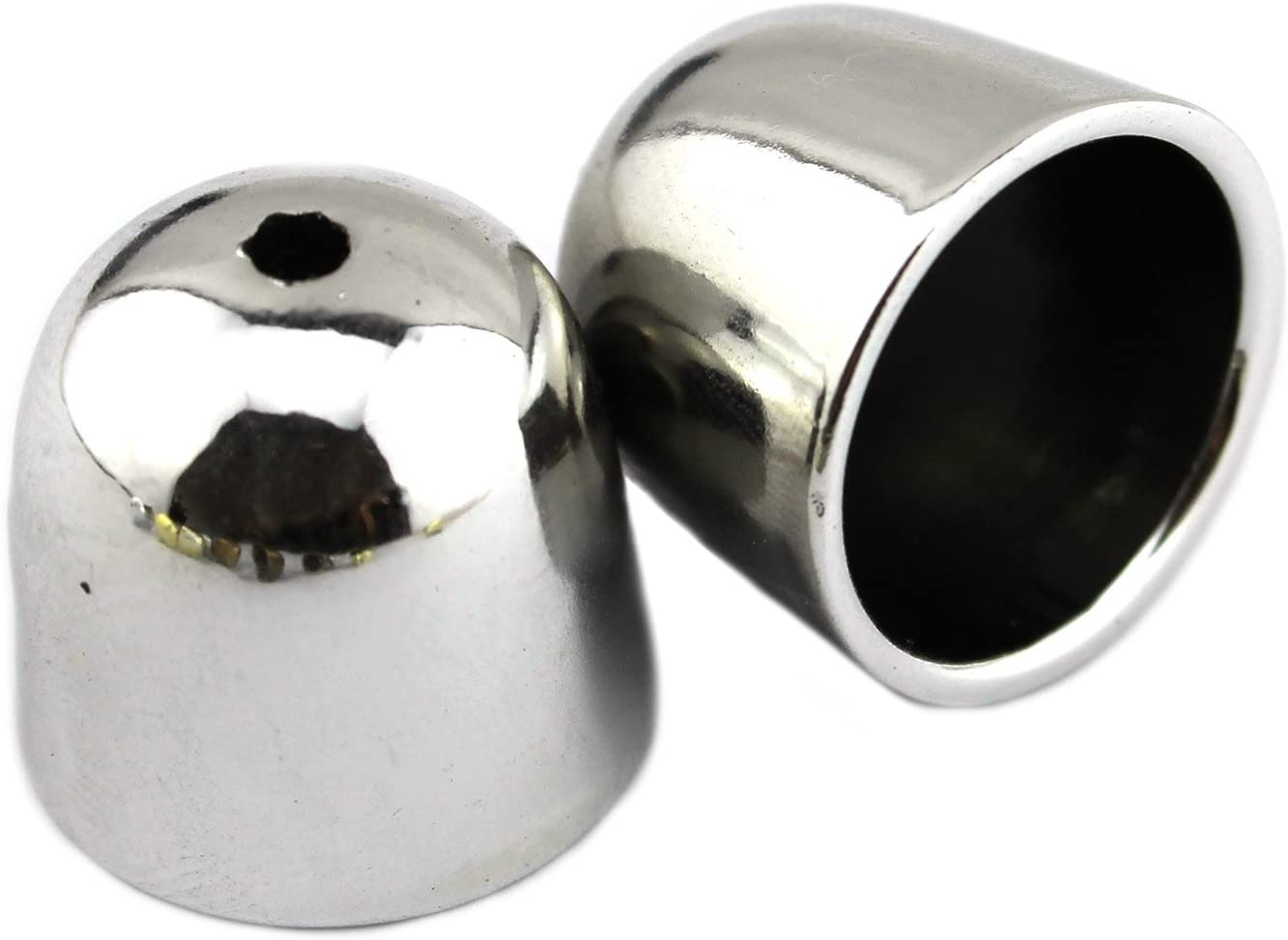 PendantScarf Popular brand Ranking TOP18 Jewelry Caps Silver Tone Bead Plastic End Cap Jewel