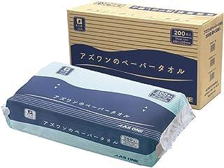 アズワン アズワンのペーパータオル 1ケース(200枚/袋×30袋入)/7-6200-02