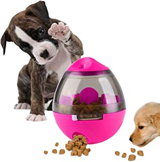 AIBOONDEE Treat Ball Dog Toy for Pet Increases IQ Interactive Food Dispensing Ball