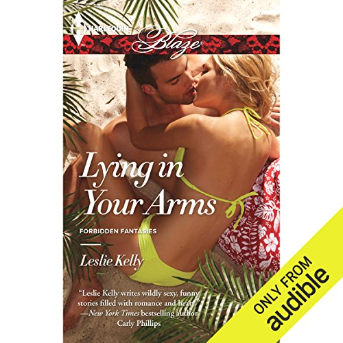 Lying in Your Arms audiobook cover art