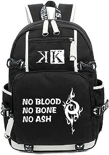 YOYOSHome Anime K Project Cosplay Luminous Daypack Bookag Backpack School Bag