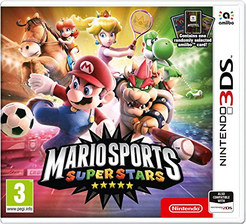 Nintendo Mario Sports Superstars + Tarjeta Amiibo (3DS)