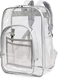 Packism Clear Backpack Heavy Duty Waterproof Transparent Backpack for School Bag