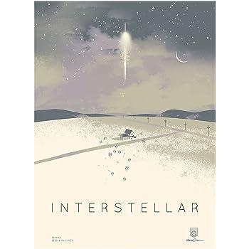 Amazon Com Interstellar Imax Limited Edition Original Not A Reprint Promo Studio Movie Poster Version A 12 X 16 Posters Prints