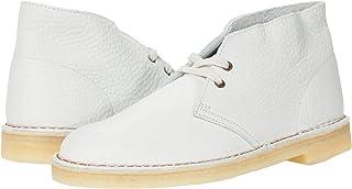 Clarks Desert Boot White Leather 10.5 D (M)