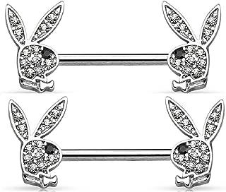 Best playboy bunny nipple rings Reviews
