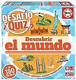 Educa- Desafio Quiz-Descubrir El Mundo Juego de Mesa, Multicolor (18218)
