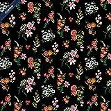 Schickliesel beschichtete Baumwolle Meterware Sommerblumen