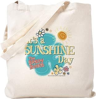 CafePress The Brady Bunch: Sunshine Day Natural Canvas Tote Bag, Reusable Shopping Bag