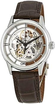 Oris Artelier Translucent Silver Skeleton Dial Automatic Men's Watch
