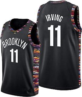 Kyrie Irving Trikot - #11 Brooklyn Nets Basketballspieler-Trikot für Herren Fan-Trikot Swingman Jerseys,5,XL