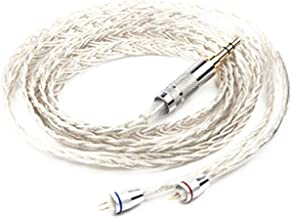KZ ZS3 ZS5 ZS6 0.75mm Silver Plate Cable 2 pin Upgrade Replacement Earbuds Exchange Cable for KZ Earphones (ZS5 Silver cable)