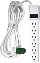 GoGreen Power GG-16103M-12 - 6 Outlet Surge Protector With 12ft Cord