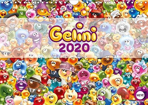 Gelini (Wandkalender 2020 DIN A4 quer): Knuffiges Geschenk für alle Fans (Monatskalender, 14 Seiten ) (CALVENDO Spass)