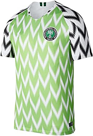 61d8114ad71 Real Nigeria Home Soccer Jersey WORLDCUP 2018
