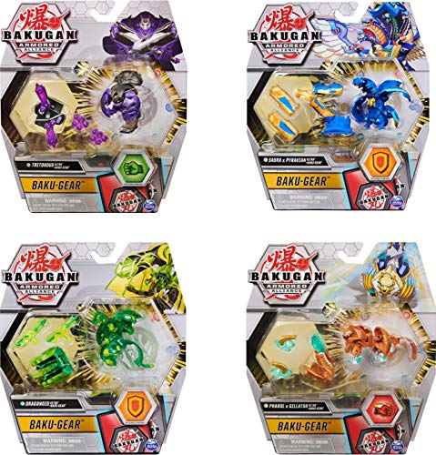 Bakugan-Bakugan-6055887-Pack 1 Bakugan Ultra + Baku-Gear-Saison 2-Jeu Jouet Enfant à Collectionner, Modèle aléatoire