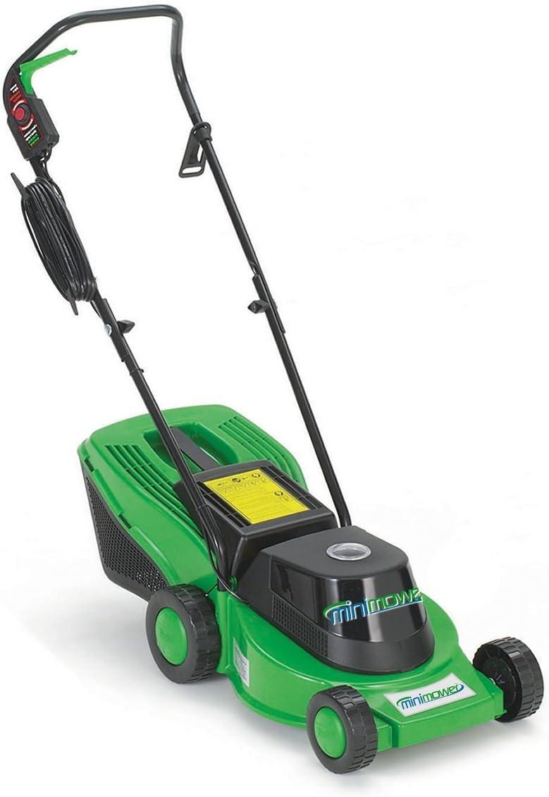 "RazarSharp MiniMower - The Original 13"" Electric Lawn Mower for Urban Yards"