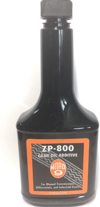 Nitro Nine ZP-800 Gear Free Ranking TOP14 shipping New Oil Additive oz 12