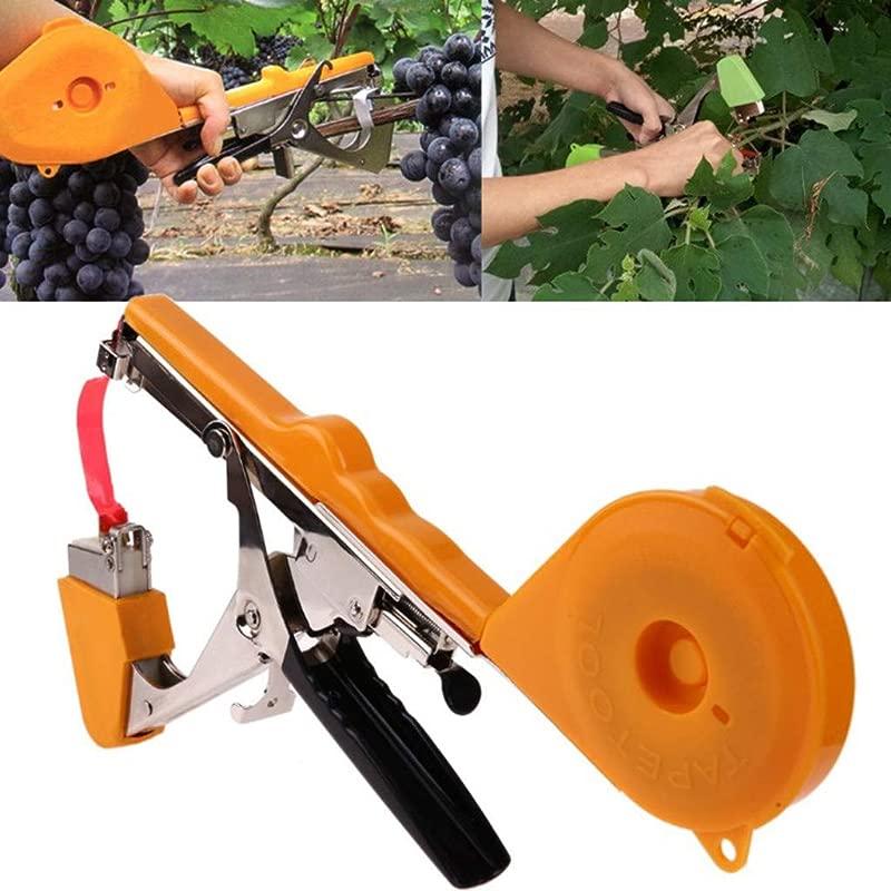 Panzisun Plant Tying Machine Gardening Tapetool Tapener Gun For Plant Garden Plant Vegetable Grape Tomato
