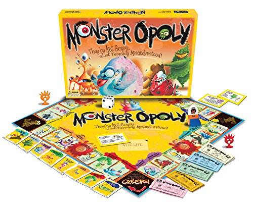 Monster-opoly kids boardgame