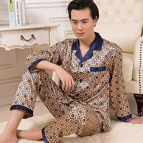 SleepWears Badjas voor heren van edele zijde lente, herfst, nieuwe lente, zomer, thuisservice