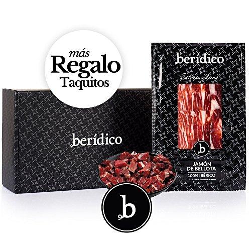 Pack 18 sobres de 100 gr de Jamón de Bellota 100% Ibérico cortado a mano + 1 sobre de 100 gr de...