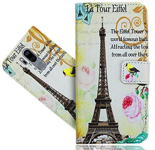 LG G7 / LG G7 ThinQ Handy Tasche, FoneExpert® Wallet Hülle Flip Cover Hüllen Etui Hülle Ledertasche Lederhülle Schutzhülle Für LG G7 / LG G7 ThinQ