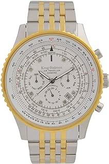 Krug-Baumen 600801DSA Mens Air Traveller Diamond Automatic Watch