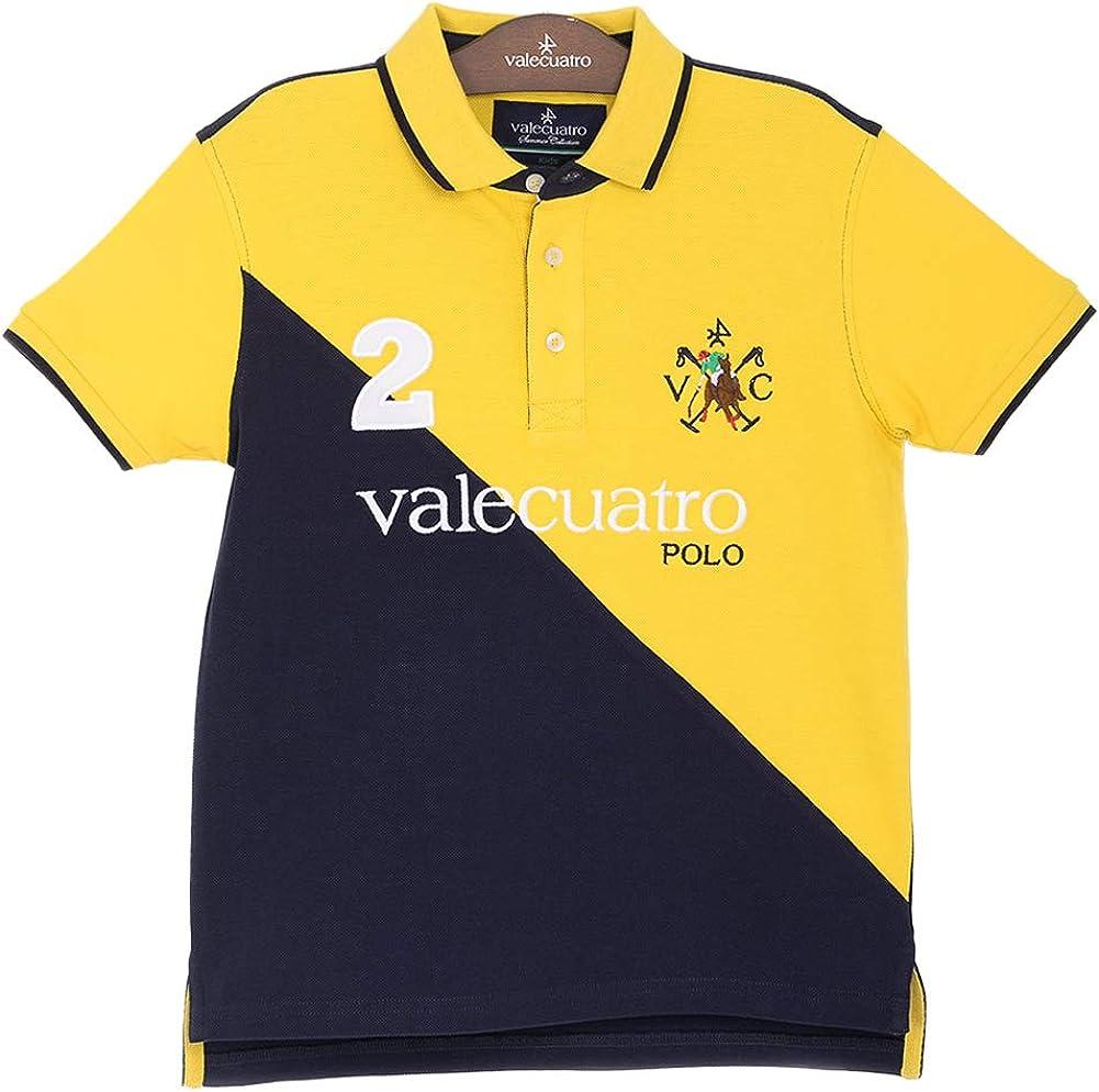 Casual Polo Shirt for Boys, 100% Cotton - Valecuatro