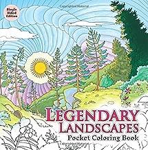 Legendary Landscapes: Pocket Coloring Book