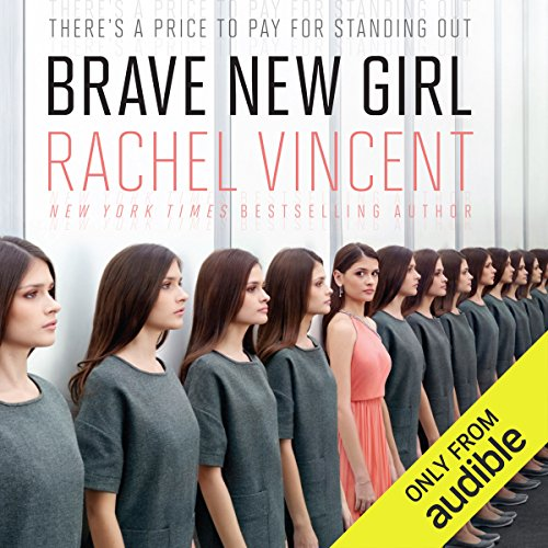 Brave New Girl audiobook cover art