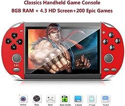 Roebii Consola De Juegos Portátil,Consola De Juegos Retro De 5.0