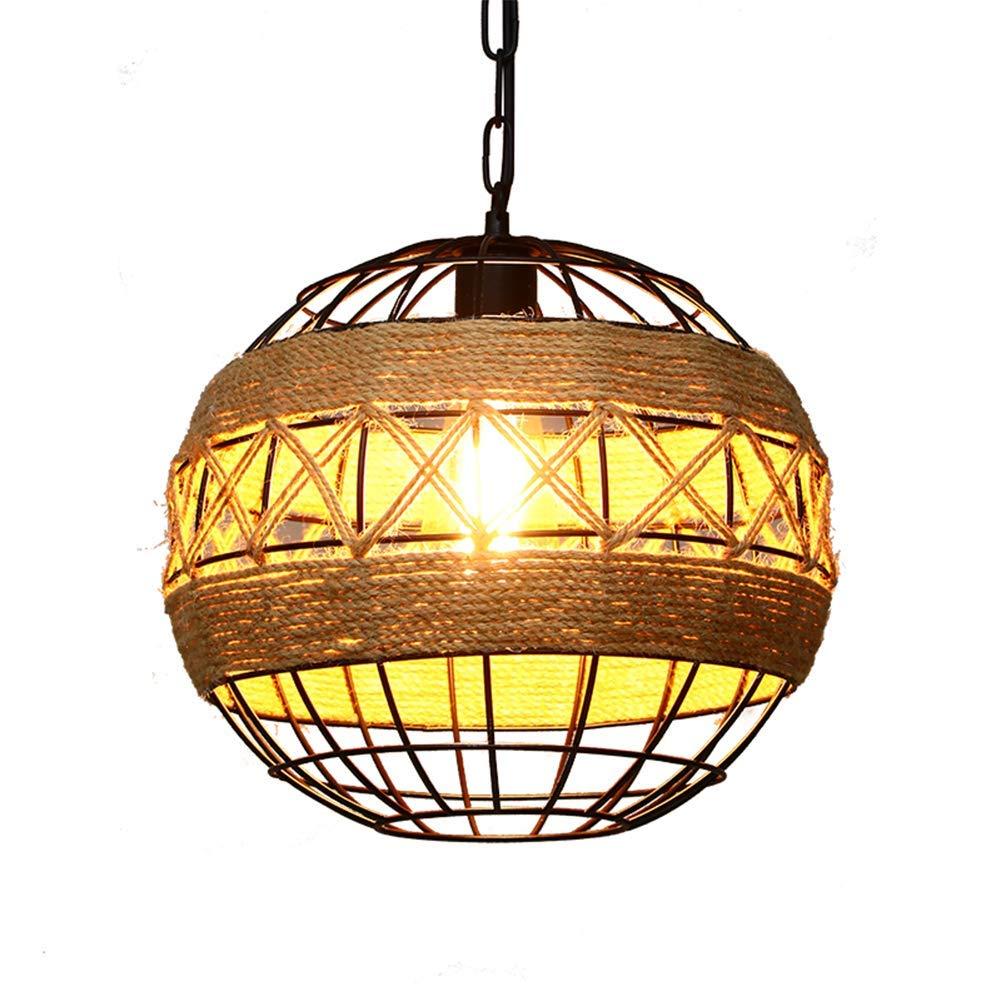 Xigeapg Land Retro Seilindustrie Wind Kronleuchter Internet Cafe Restaurant Cafe Bar Ball personalisierte Lampen