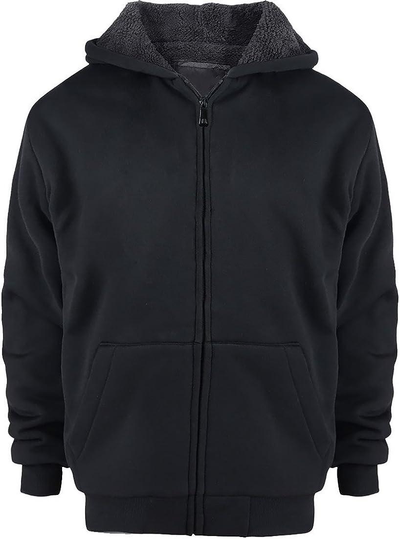 Sherpa Rare Lined Boys Hoodie Full Zip Long Big Fleece Warm 4 years warranty Sle Youth