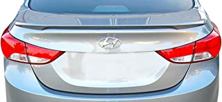 Factory Style Lip Spoiler for the Hyundai Elantra Painted in the Factory Paint Code of Your Choice #522 W8, WW8