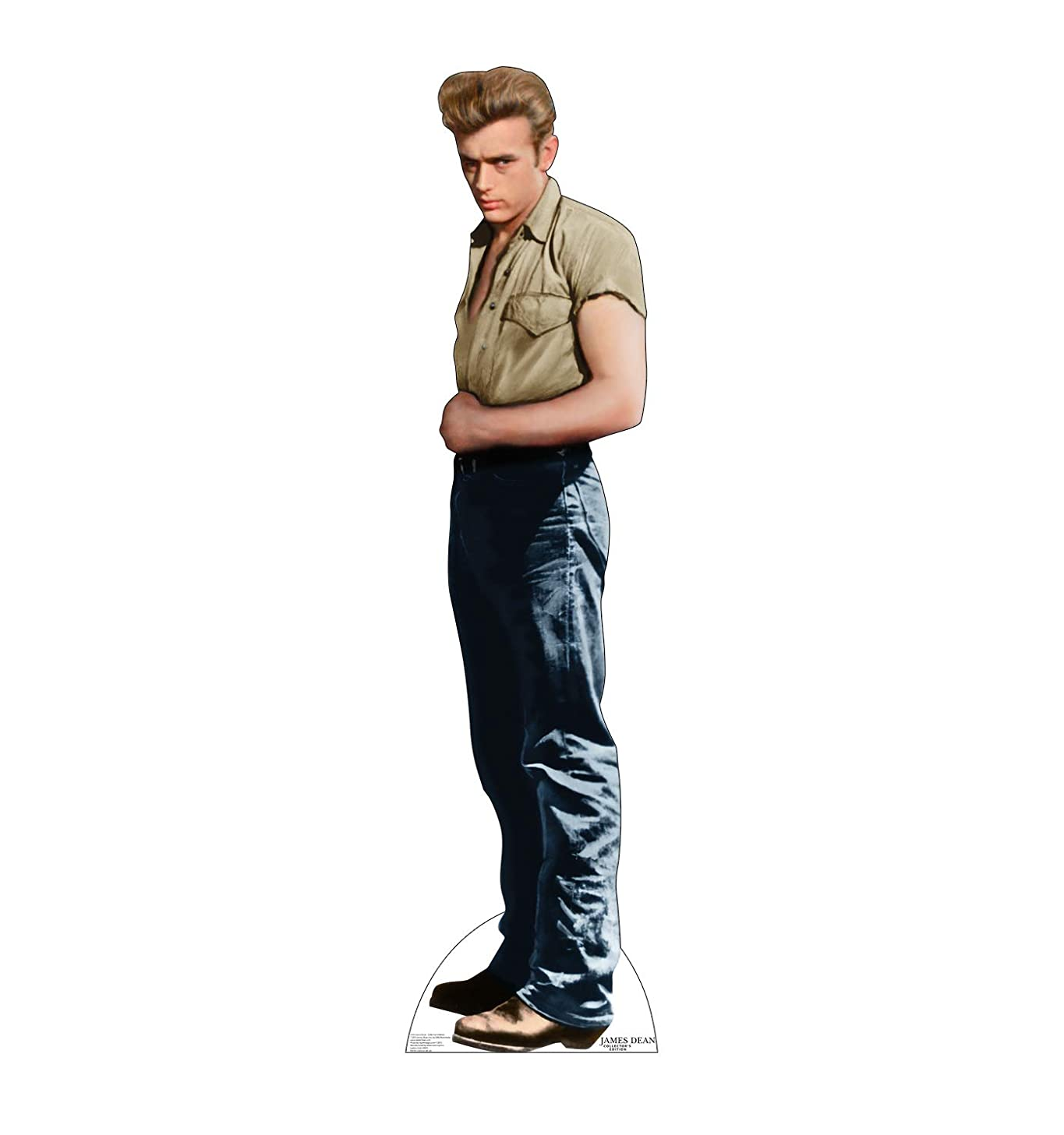 Advanced Graphics James Dean Life Size Foam-Core Cutout Standup - Collector's Edition