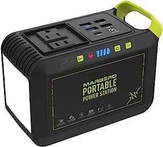 منبع تغذیه قابل حمل 88 وات ساعت ، منبع تغذیه باتری لیتیوم ژنراتورهای کمپینگ 24000 میلی آمپری با ولتاژ 110 ولت / 80 وات (اوج 120 وات) خروجی AC ، USB QC3.0 ، چراغ قوه LED برای پشتیبان گیری اضطراری کمپینگ خانگی