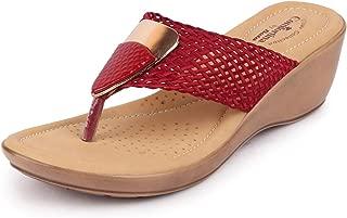 BATA Comfortina Women's Dress Wedge Heel Slippers