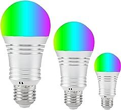 Smart WiFi Gloeilamp RGBCW, Alexa Light Bulbs 12W, Work with Alexa & Google Home, Multicolor Dimbare LED Lights cool White...