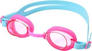 Dark Lightning Kids Swim Goggles, Swimming Glasses Anti Fog/No Leak/UV 400 Protection, for Youth/Toddlers/Children Girls and Boys Age 3-12
