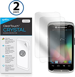 Motorola TC55 Screen Protector, BoxWave [ClearTouch Crystal (2-Pack)] HD Film Skin - Shields From Scratches for Motorola TC55