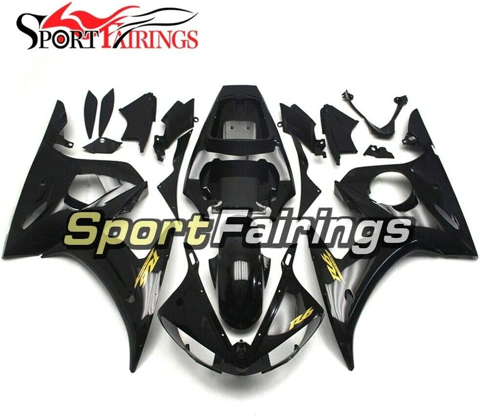 Sportfairings Dedication Quantity limited Complete Motorcycle Fairings Black wi for