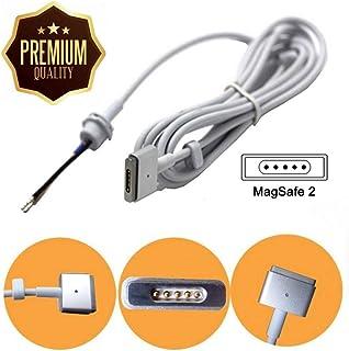交換用45W 60W 85W ACアダプターDC電源ケーブル修理コードfor Apple MacBook Air / Retina magsafe2Tタイプ、ホワイト